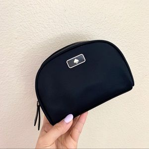 Kate Spade Mini Black Cosmetic Bag